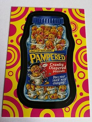 2014 Topps Wacky Packages Series 1 Mint Pampered Variation #7 Card