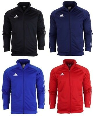 3d23a31a0383 adidas core 18 mens jacket pes football sport running tracksuit top long  sleeve