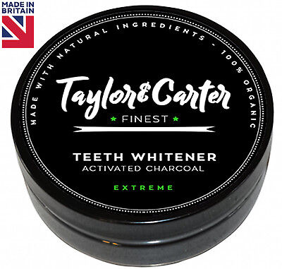 100% Natural Activated Charcoal Whitening Tooth Teeth Powder Toothpaste⭐EXTREME⭐