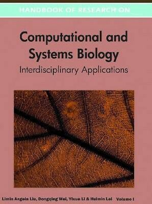 NEW Handbook Of Research On Computational And Systems Biology BOOK (Hardback)