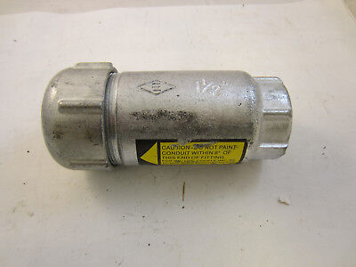 """New Efc Ax150 Expansion Coupling 1 1/2"""" Fitting  4"""" Movement Xj150-4  Oz Gedney="""