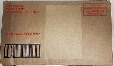 McMaster Carr #124 Catalog BRAND NEW IN BOX Cleveland Ohio Midwest