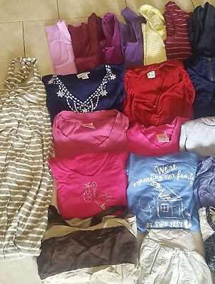 Huge NICE maternity clothes lot size medium 27 pieces and FREE SUPRISE gift!!