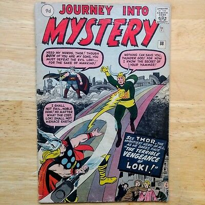 Journey Into Mystery #88 - 2nd LOKI 6th THOR Marvel Comics 1963