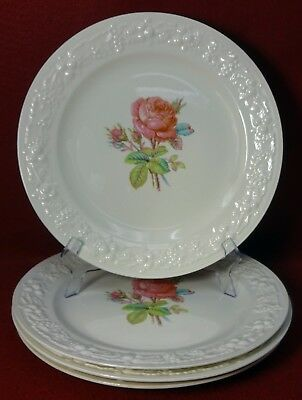 HOMER LAUGHLIN CHINA Gothic Pattern Set Of 4 Dinner Plates 10 5/8 ...