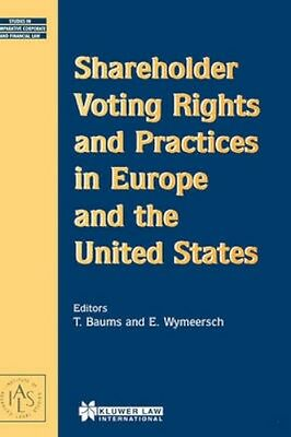 NEW Shareholder Voting Rights And Practices In Europe And... BOOK (Hardback)