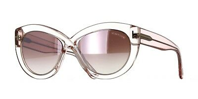 d4c513ca4fb0 TOM FORD DIANE-02 FT 0577 shiny pink purple shaded mirror (72Z A ...