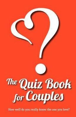 NEW The Quiz Book For Couples by Lovebook BOOK (Paperback / softback) Free P&H