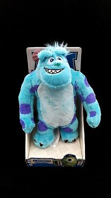 """Brand New Disney Official Monsters University Sulley Sully Soft Plush Toy 10"""""""
