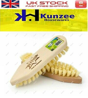 New Bettina Wooden Scrubbing Hard Brush  - Ideal for Floors/Cleaning Carpets