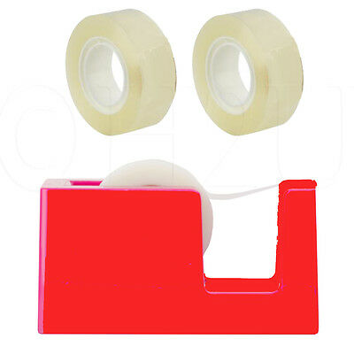 Home Office Tape Dispenser Cellotape Sellotape Roll Rolls Packing Clear Cutter