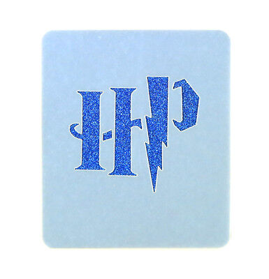 HP Initials Face Painting Crafting Stencil 7cm x 6cm Washable Reusable