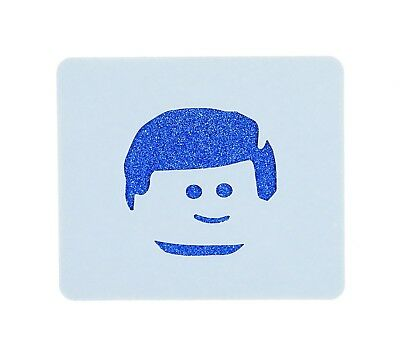 Lego Emmet Brickowski Face Painting Stencil 7cm x 6cm Washable and Reusable