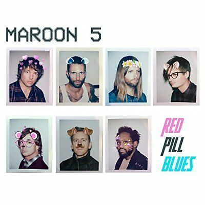 Maroon 5 - Red Pill Blues - CD - Brand New