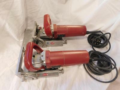 2 Used 240v Lamello Classic C2 Biscuit Joiners Jointer  in good working order