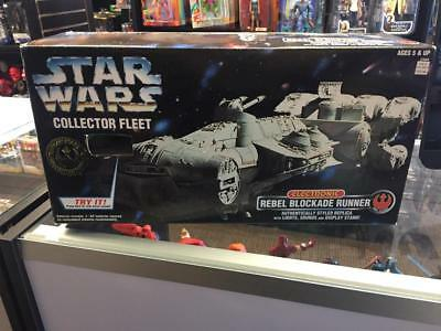 1996 Star Wars Collector Fleet Rebel Blockade Runner by Kenner