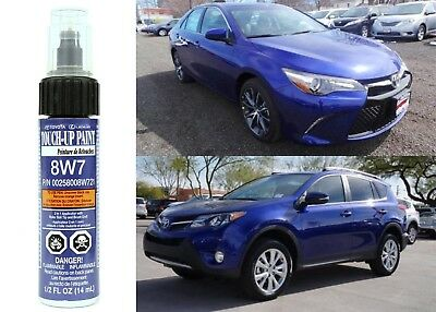 Genuine Toyota 00258-008W7-21 Blue Crush Metallic 8W7 Touch-Up Paint Pen New