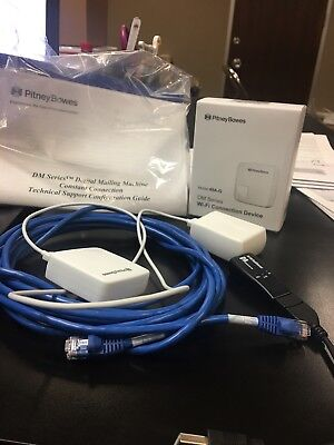 PITNEY BOWES HIGH SPEED CONSTANT CONNECT KIT and 49A-G wi fi connection device