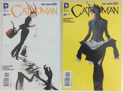Catwoman #39 & #40. (DC New 52)