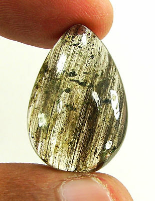 25.85 Ct Natural Scapolite Loose Cabochon Gemstone Beautiful Stone - 17554