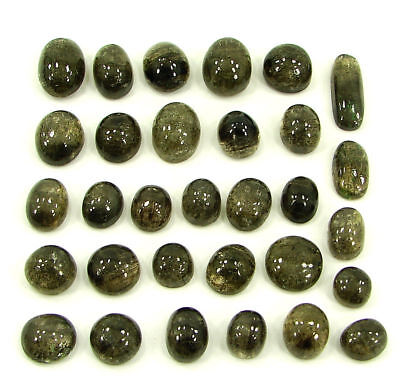 164.25 Ct Natural Scapolite Loose Cab Gemstone Wholesale Lot of 31 Pcs- 17522
