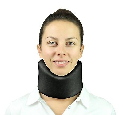 Neck Brace by Vive - Cervical Collar - Adjustable Soft Support Collar Can Be Use