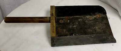 Vintage Large Galvanized Tin Animal Feed Scoop