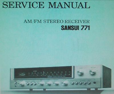 sansui 551 stereo receiver service manual inc schematic printed rh picclick co uk