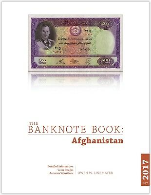 Afghanistan chapter from new catalog of world notes, The Banknote Book