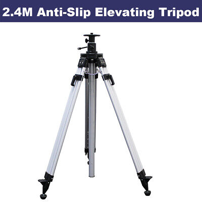 2.4M Elevating Tripod for Rotary Laser Level Dumpy Level Cross Line Laser level