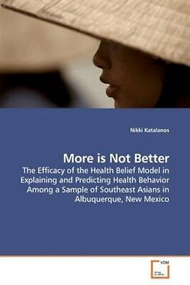 NEW More Is Not Better by Nikki Katalanos BOOK (Paperback / softback) Free P&H