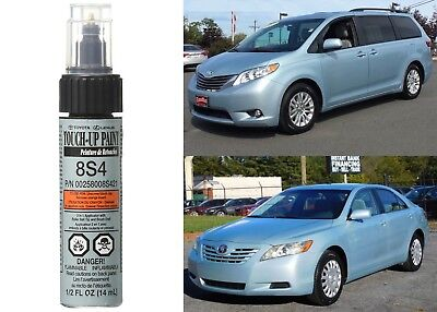 Genuine Toyota 00258-008S4-21 Sky Blue Pearl Touch-Up Paint Pen New Free Ship
