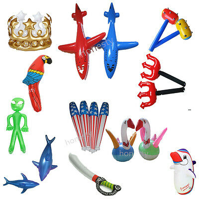 Inflatable Children Blow Up Toys Party Fancy Dress Pool Beach Swimming Kids Play