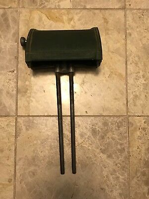 Koken Barber Chair 2 Post Headrest Paper Roll Dispenser Vintage