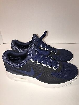 6d1273ef53 NIKE AIR MAX ZERO BR MIDNIGHT NAVY MEN SNEAKERS SZ 9 Men's 903892 400