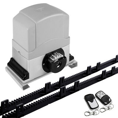 12000KG Automatic Sliding Gate Opener 6M with Remotes Home Garden Gate Openers