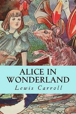 NEW Alice In Wonderland BOOK (Paperback) Free P&H