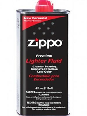 New Zippo Premium Lighter Fluid 4 fl.oz (118ml) Can Fuel For Zippo Lighters