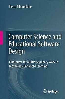 NEW Computer Science And Educational Software Design by... BOOK (Paperback)
