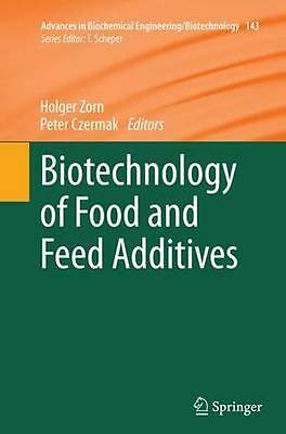 NEW Biotechnology Of Food And Feed Additives BOOK (Paperback) Free P&H