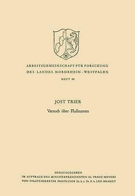 NEW Versuch Uber Flussnamen by Jost Trier BOOK (Paperback) Free P&H