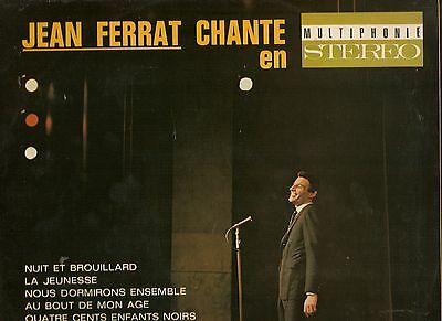 JEAN FERRAT CHANTE LP extrem rar made in france