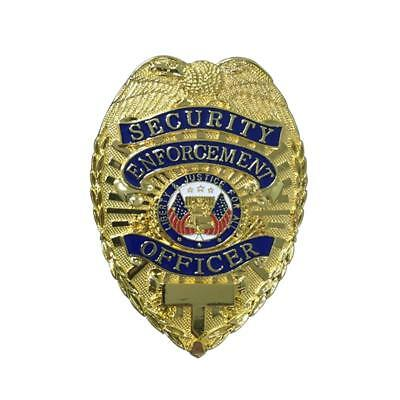 Security Enforcement Badge Special Agent Officer for Prop Clip Cosplay Full Size