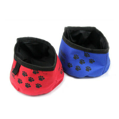 Pet Slow Bowl Puppy Dog Cat Feeder Feed Dish Travel Portable Food Water Bowl RM6