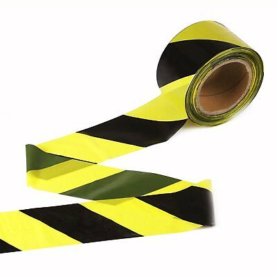 "JVCC BR-1 Barricade Tape: 3 in. x 1000 ft. Red with Black ""CAUTION DO NOT ENTER"""