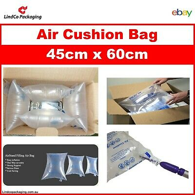 30PCS Inflatable Air Cushion AirStand Filling Bag Packaging Air Pillow 45x60cm