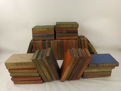 Large Job Lot of Antique Everyman's Library J.M Dent 1911 6th Edition
