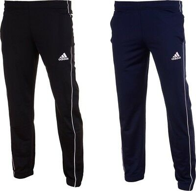 Adidas Mens Core 18 PES Typical Football Fit Pants Tracksuit Bottom Training