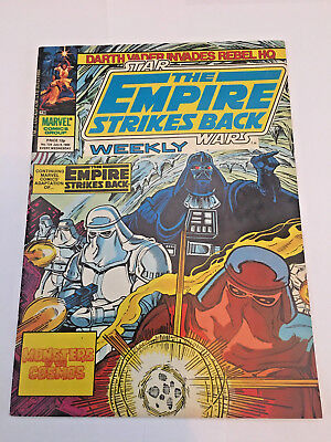 Star Wars Weekly, The Empire Strikes Back, No 124 July 9th 1980 Marvel Comics