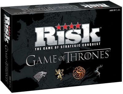 Game of Thrones Risk Board Game - Deluxe Edition - Over 650 Game Pieces
